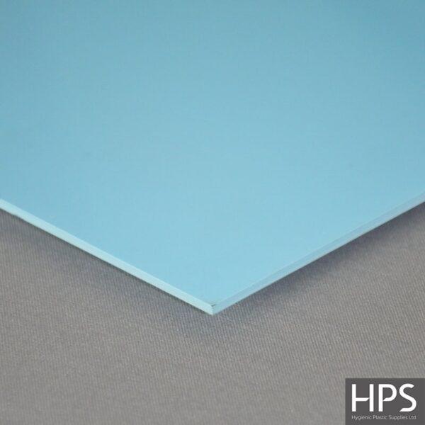Pastel Blue PVC Wall Sheet