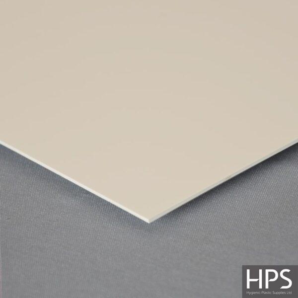 Pastel Cream PVC Wall Sheet