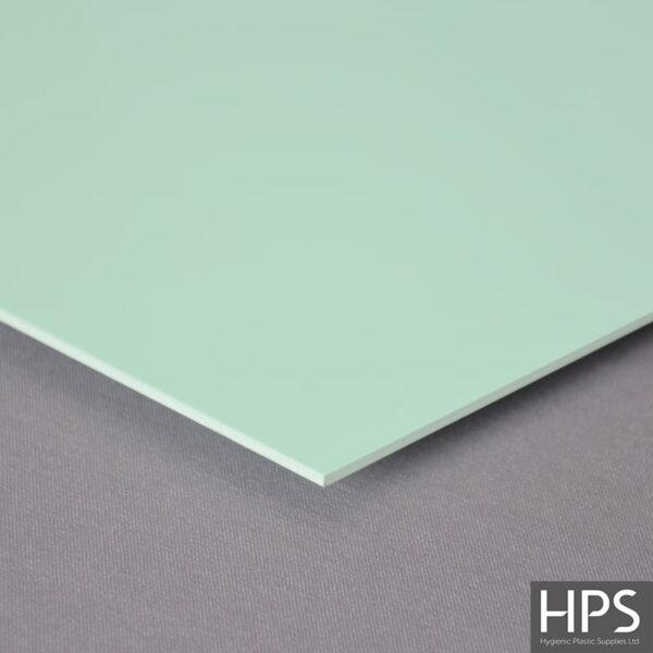Pastel Green PVC Wall Sheet