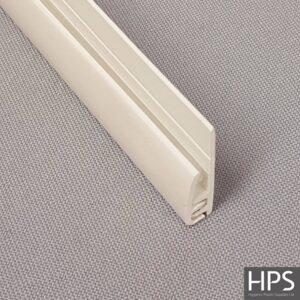 2 Part J Section / Edging Strip – White