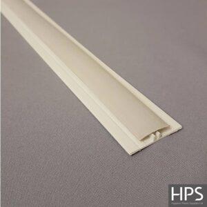 2 part pastel grey h section