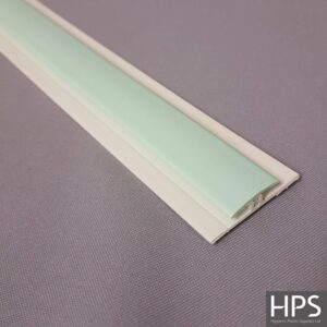 pastel green h section
