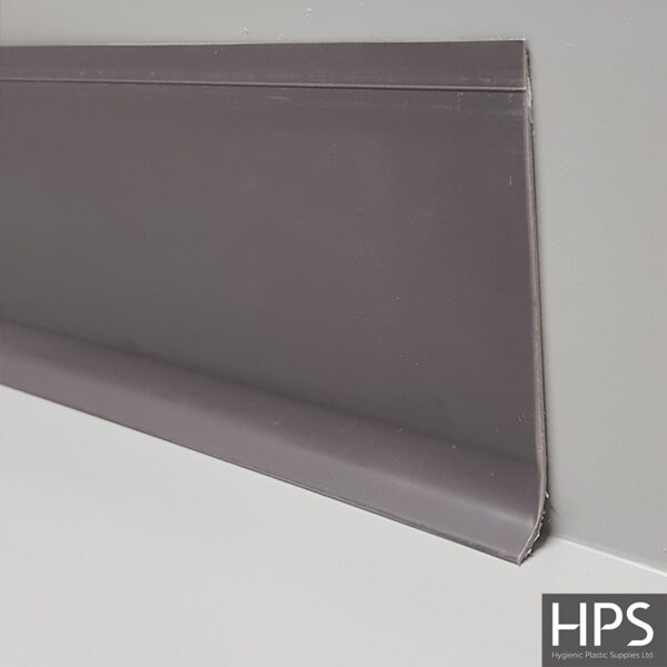 flexible skirting trim grey