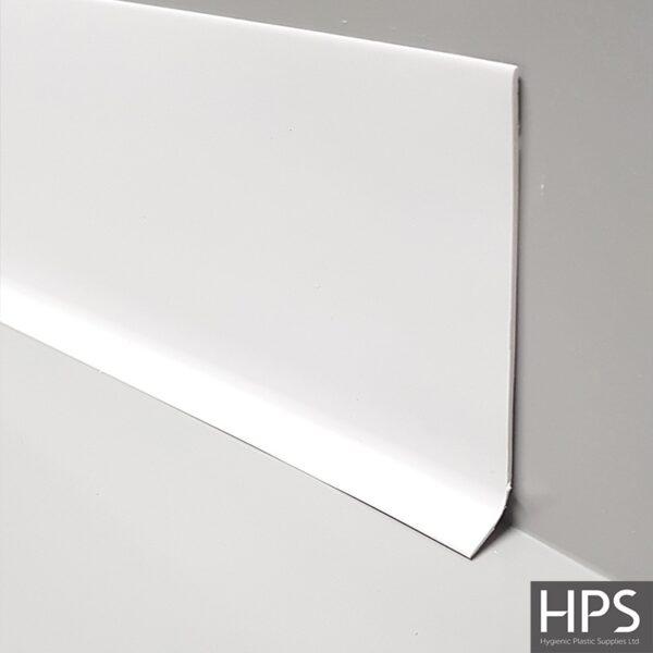 white flooring trim